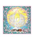 rise and blossom kanku kyokushin silk scarf