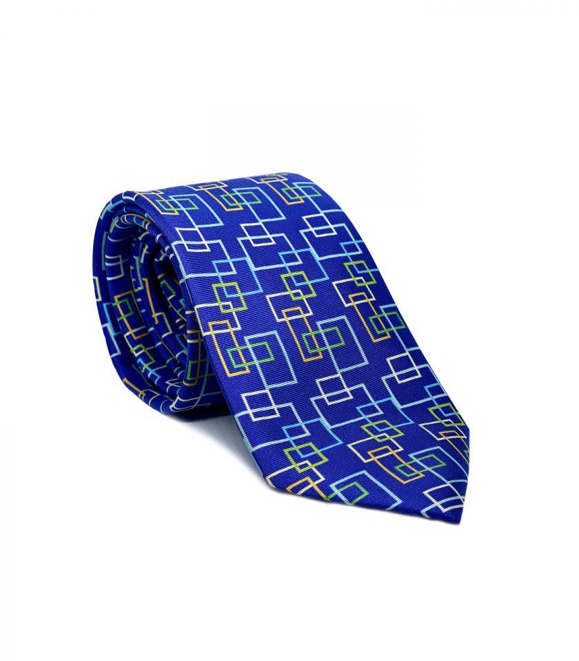 Navy Silk Tie for men