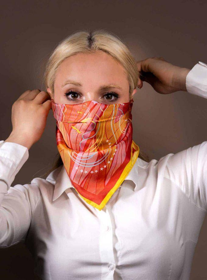 silk scarf SAYNALONDON