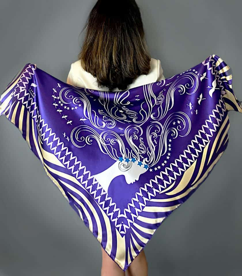 luxury silk scarves