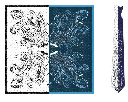 bespoke scarf design bespoke tie design