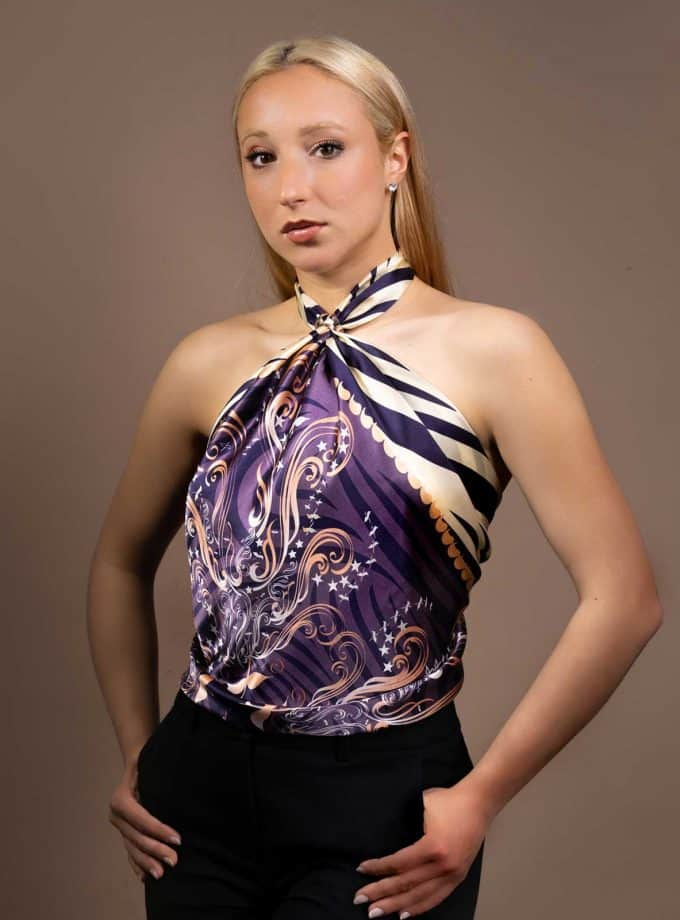 luxury silk scarves UK