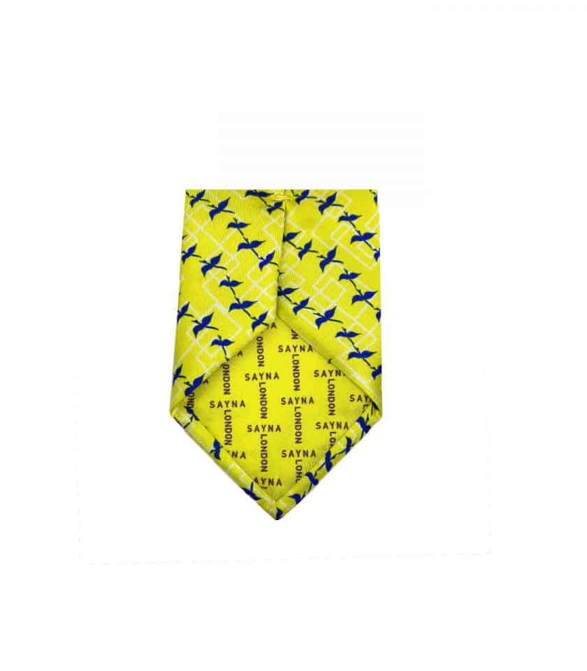 yellow Silk Tie for men, gift for him, valentins gift, fathers day gift, luxury gift, gift idea