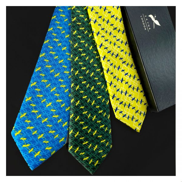 SAYNA LONDON Tie collection for men