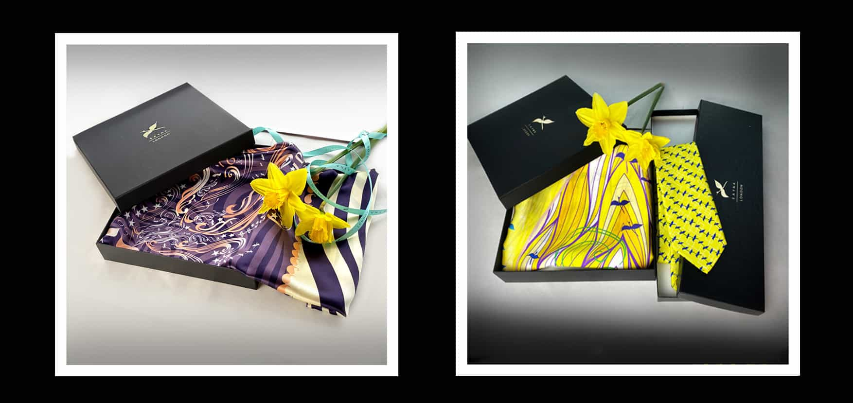 luxury silk scarves collection