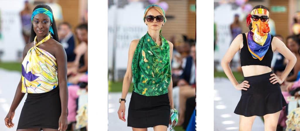 SAYNA LONDON Fashion Show- london fashion week