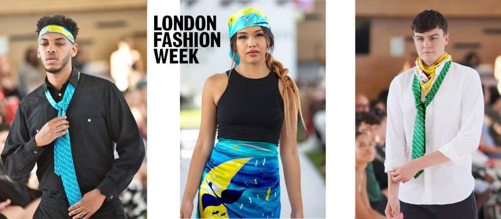 SAYNA LONDON Fashion Show london fashion week 2021