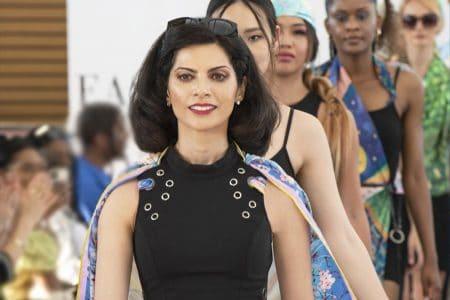 LONDON Fashion Week 2021- SAYNA LONDON -SAYNA PARVIN