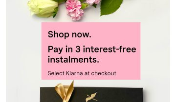 Pay in 3 interest free